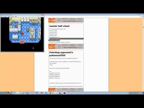 How to put Gameshark Code in a Gameboy Emulator !!!