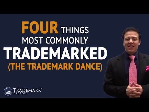 Four Things Most Commonly Trademarked The Trademark Dance | Trademark Factory® FAQ