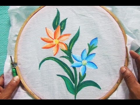 Fabric Painting For Beginners Part   3