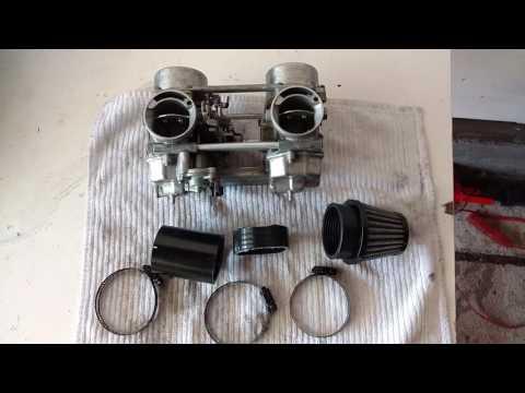 Honda CM400T Cafe Racer Build PART 9 - Carbs