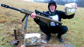 50 CALIBER VS DIAMOND PLAY BUTTONS!!