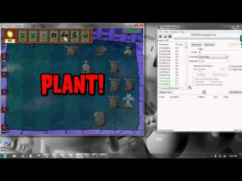 Plants Vs. Zombies Hack (No reload And Unlimited Sun)