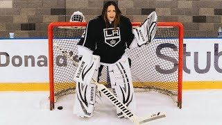 I Sent Sammy To Try Out For The LA KINGS! | Shay Mitchell