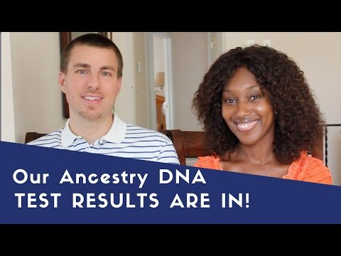 Our Ancestry DNA Results Are In!