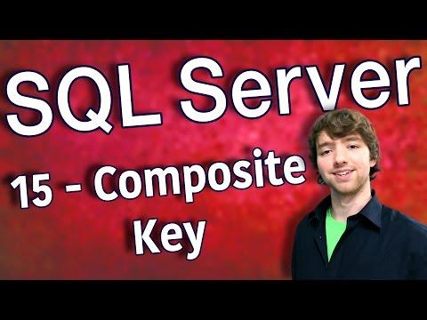 SQL Server 15 - Composite Key