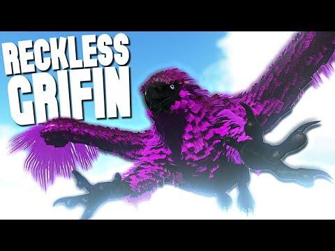 THE RECKLESS GRIFFIN! - Ark Survival Evolved (Modded)