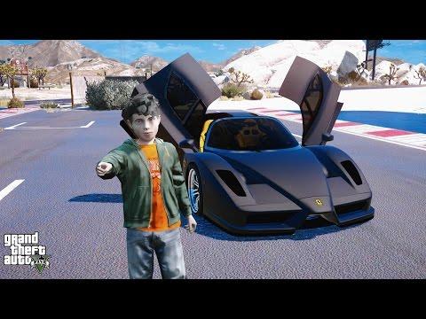 TIMMY DRIVES- NEW FERRARI ENZO #6