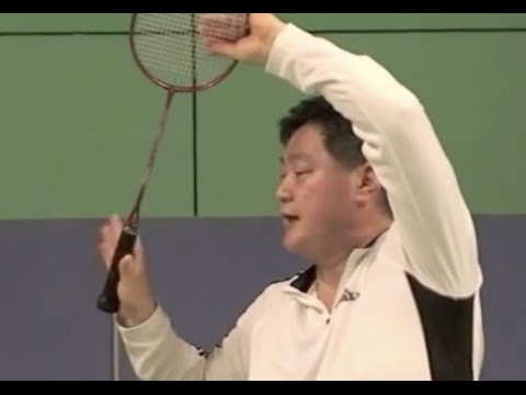 Badminton Smash Skill (1) How to Grip the Raquet