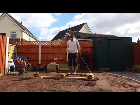 How to Install Garden Drainage/Level Garden and a New Lawn