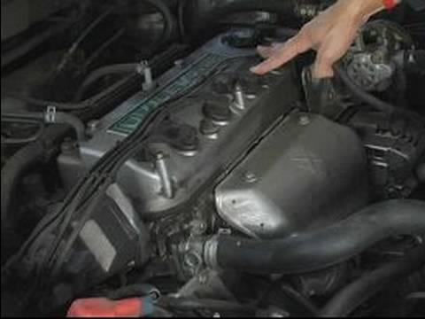 Basic Car Care & Maintenance : Checking Car Engine Spark Plugs