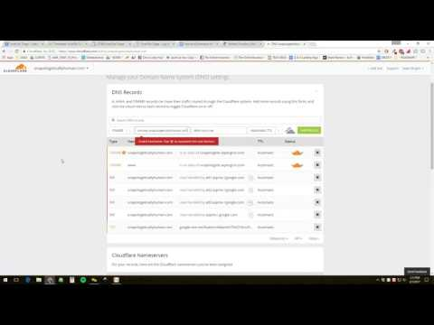 Authenticating your MailChimp Account with CloudFlare