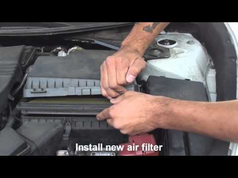 how to install air filter nissan altima 2013 2014