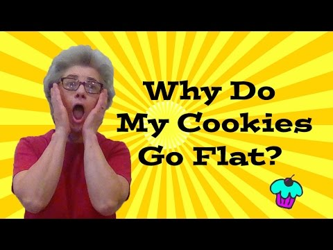 Why Do My Cookies Go Flat?