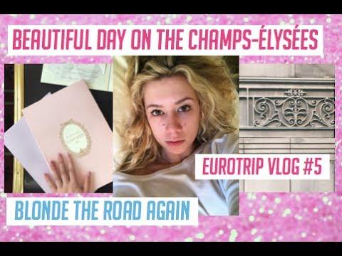 EURO TRIP VLOG: Champs-Élysées