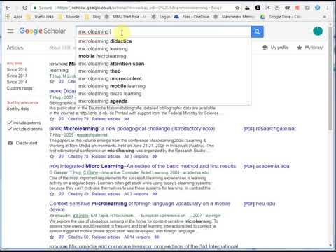 #419 Keep on top of new research with Google Alerts
