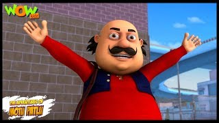 Motu Patlu New Episodes | Cartoons | Kids | Motu Patlu - Morcha | Wow Kidz