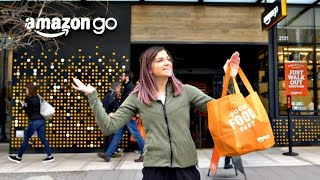Inside the NEW Amazon Go Cashierless Store!