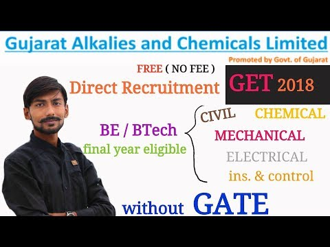 GACL recruitment 2018 | GET : MECHANICAL, CIVIL, ELECTRICAL, C&I, CHEMICAL | HOW TO APPLY ?