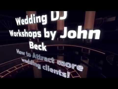 Wedding DJ Workshops in Melbourne By John Beck