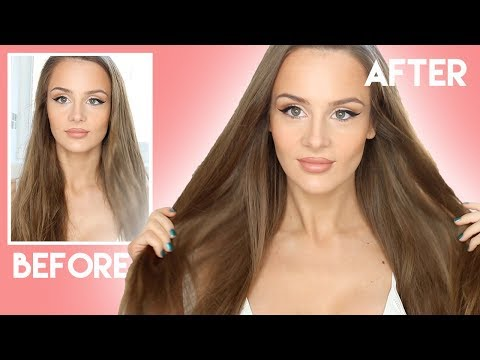 10 hair care tips for dry hair - how to get healthy shiny hair | PEACHY