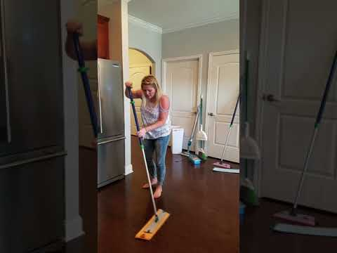 Norwex Large vs Small Mop