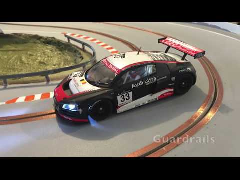 How to make slot car track barriers -  S Track Slot Car Wiring Diagram on