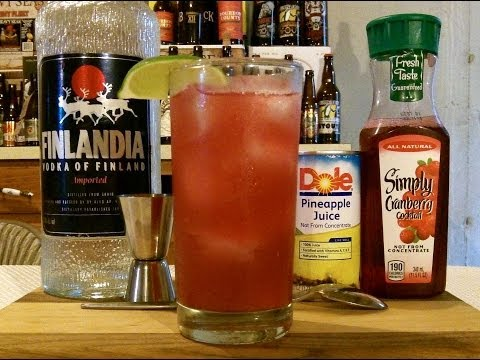 How To Make A Bay Breeze Cocktail / Mixed Drink ✩✩ RECIPE INCLUDED ✩✩ DJs BrewTube