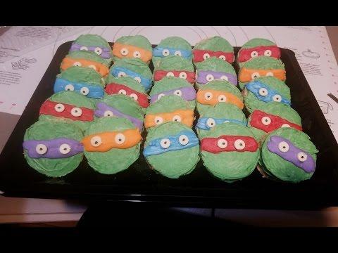Tortugas ninja de arroz inflado 🐢 ninja turtles rice krispies treats