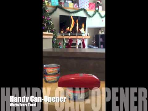 Handy Can-Opener Review- As Seen On TV
