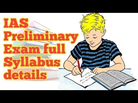 IAS prilims exam full syllabus