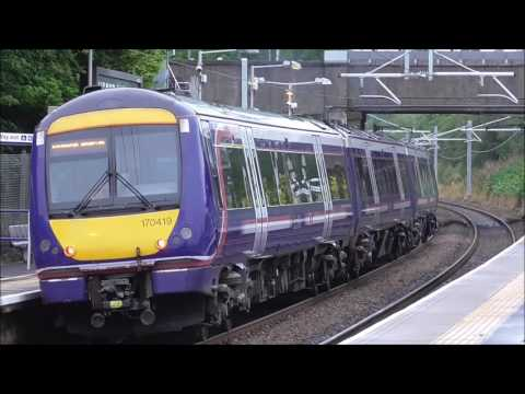 Trains Between Edinburgh & Glasgow