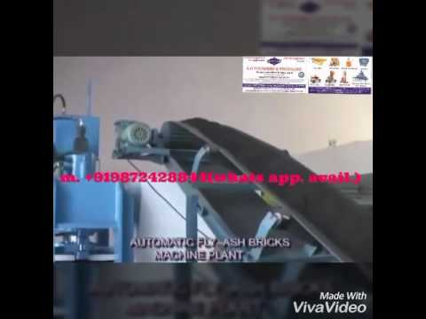 low cost fly ash bricks making machinery