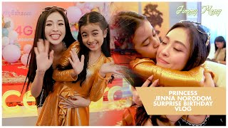 Surprising Princess @Jenna Norodom Official Music On Her Birthday - Jimmy Meng VLOGS