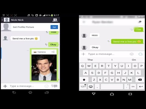 How to identify a fake live pic in kik messenger