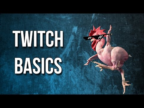 Twitch Basics - How to make your channel look better!