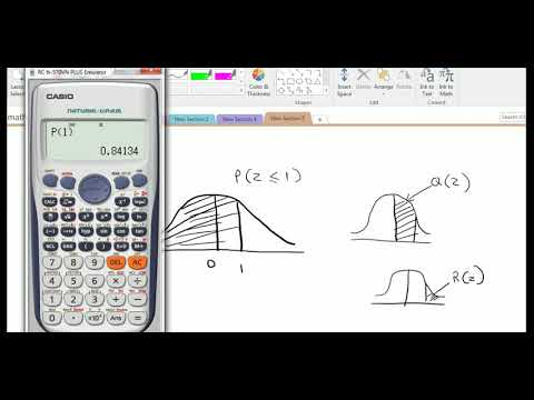 using calculator to compute probability no need to use z table anymore