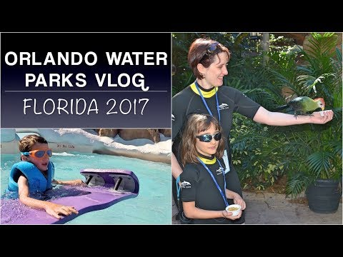 SeaWorld and water parks: Orlando holiday PART 2 | Florida 2017