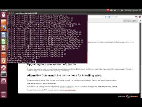 How to Install WineHQ in Ubuntu