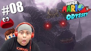 HOLD UP!! WE FIGHT A DRAGON IN THIS GAME!? [SUPER MARIO ODYSSEY] [#08]