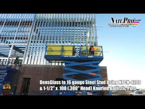 Densglass to Steel Stud