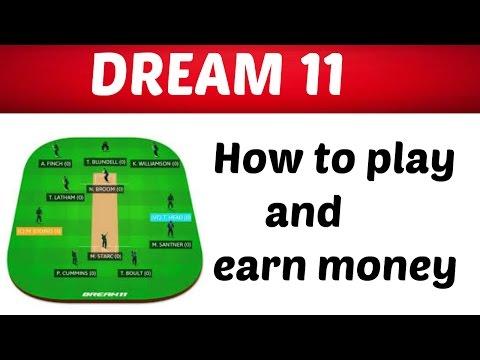 How to play Dream 11| IPL-2018 |Dream 11 Team | earn money | live cricket score | IPL 11