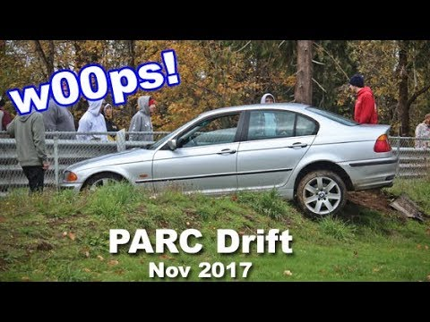 PARC Drift   Drifting at Pat's Acres Racing Complex November 2017