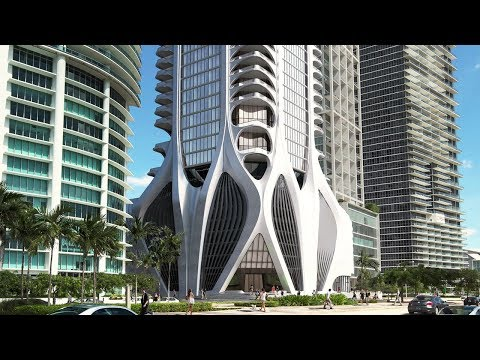 """One Thousand Museum: Building an """"Exoskeleton"""" Skyscraper 