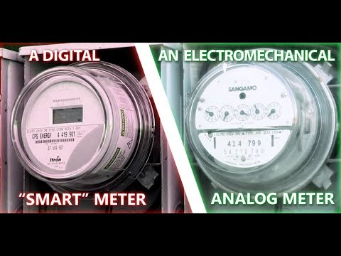 Testing utility analog and smart meters for RF radiation