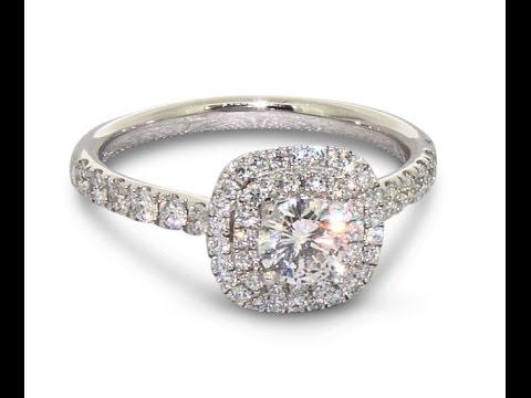 Gear Jewellers Dublin Platinum Diamond Engagement Ring 0180006
