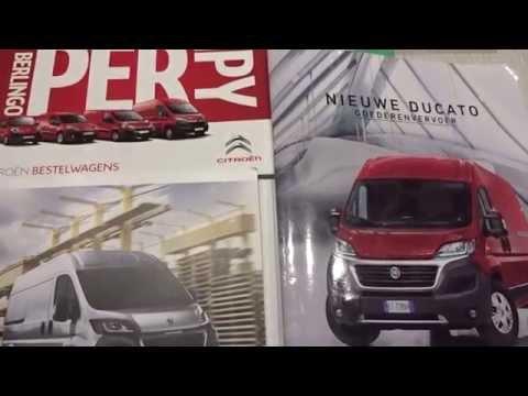 Bestelwagens: Jumper vs Boxer vs Ducato (echte mannen rijden met bestelwagens)