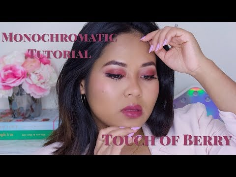 Monochromatic Touch of Berry Tutorial