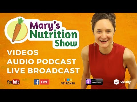 Mary's Nutrition Show - 2018 Intro