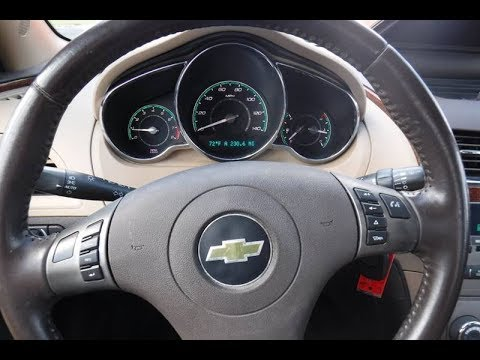 How to repair your Chevy Malibu Instrument Cluster 2008 2009 2010 2011 2012