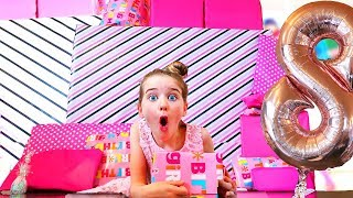 HER BEST BIRTHDAY PRESENT WAS ACTUALLY SO UNEXPECTED | Naz from the Norris Nuts 8th Birthday